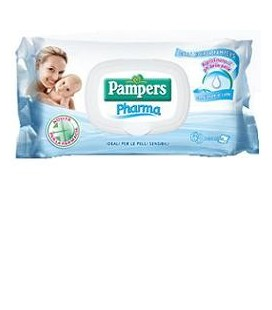 PAMPERS PHARMA SALV SENS 63PZ