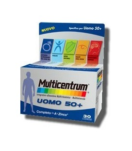 MULTICENTRUM UOMO 50+ 30CPR
