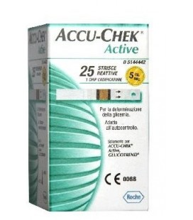 ACCU-CHEK ACTIVE 50STR