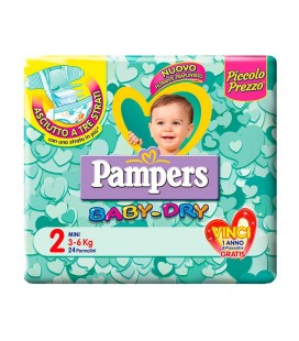 PAMPERS BD DWCT NO FLASH MIN24