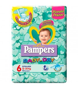 PAMPERS BD DWCT NO FLASH XL 15