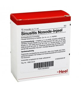 SINUSITIS NOSODE INJ 10F HEEL