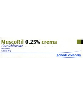 MUSCORIL*CREMA 30G 2,5MG/G