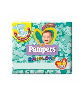 PAMPERS BABY DRY DOWN MIDI20PZ